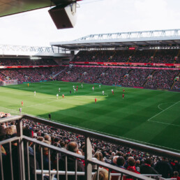 Propiedad Intelectual Football Stadium Ambush Image