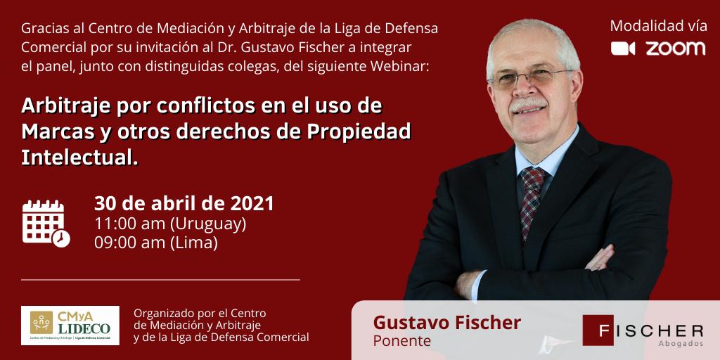 Invitación a Webinar LIDECO 30.04 a las 11hs de Uruguay